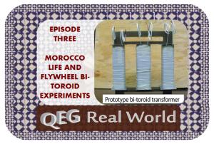 qeg real world episode three bi-toroid experiments